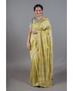 Mustard Yellow Soft Silk Designer Printed Sarees For Women Online - Emiraas By Indrani