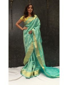Sea Green Designer Sarees For Women Online - Emiraas By Indrani
